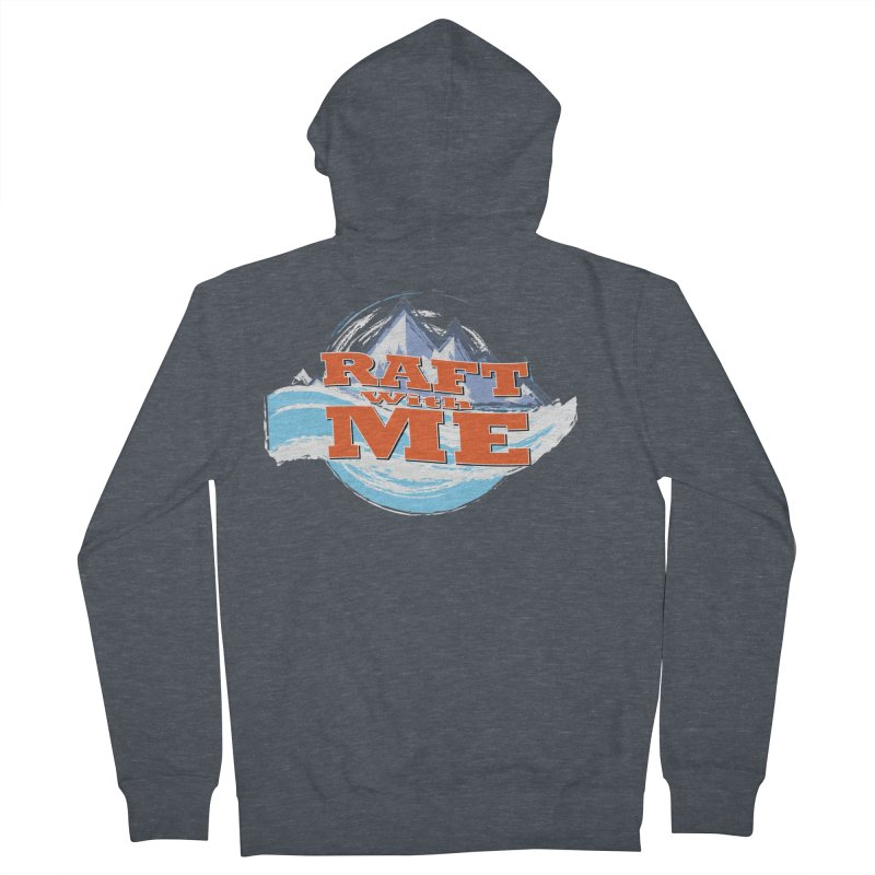 Raft with ME II Men's French Terry Zip-Up Hoody by Monumental Expeditions