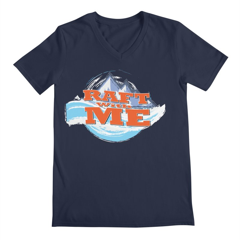 Raft with ME II Men's Regular V-Neck by Monumental Expeditions