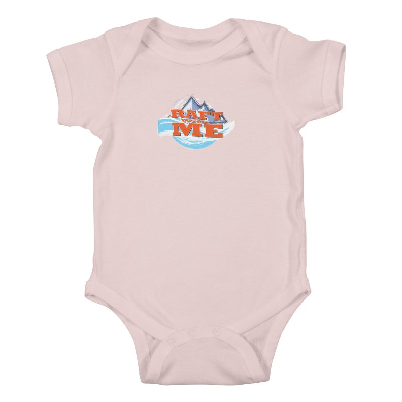 Raft with ME II Kids Baby Bodysuit by Monumental Expeditions