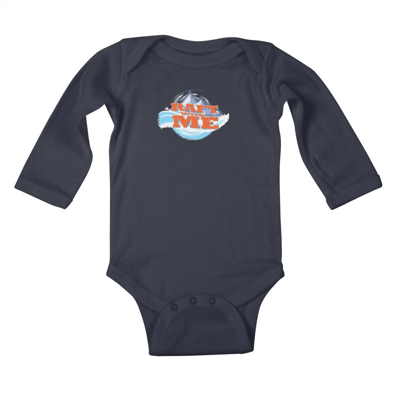 Raft with ME II Kids Baby Longsleeve Bodysuit by Monumental Expeditions