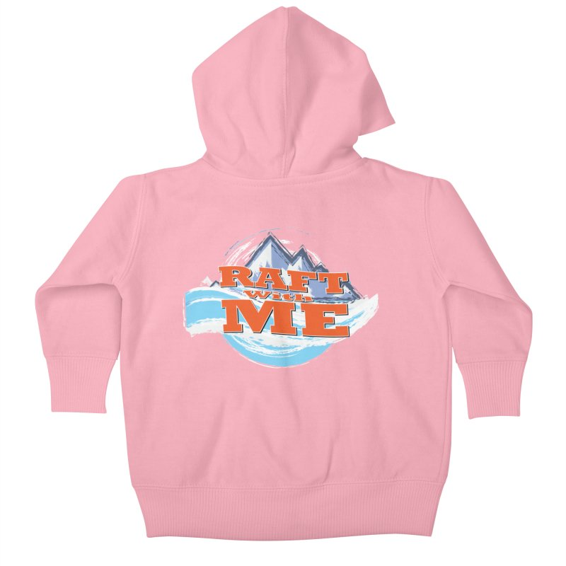 Raft with ME II Kids Baby Zip-Up Hoody by Monumental Expeditions