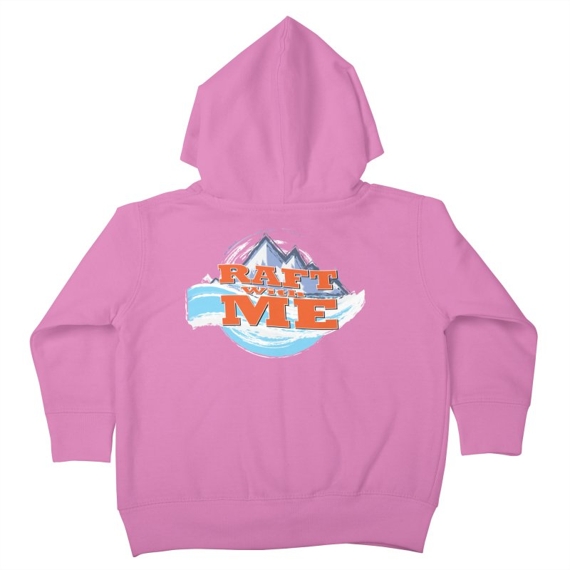 Raft with ME II Kids Toddler Zip-Up Hoody by Monumental Expeditions