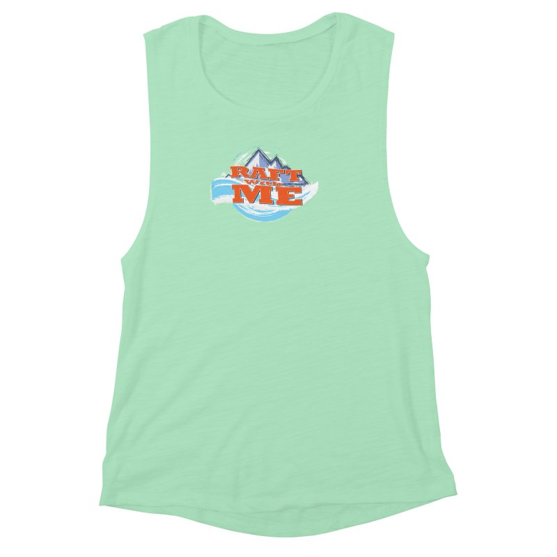 Raft with ME II Women's Muscle Tank by Monumental Expeditions