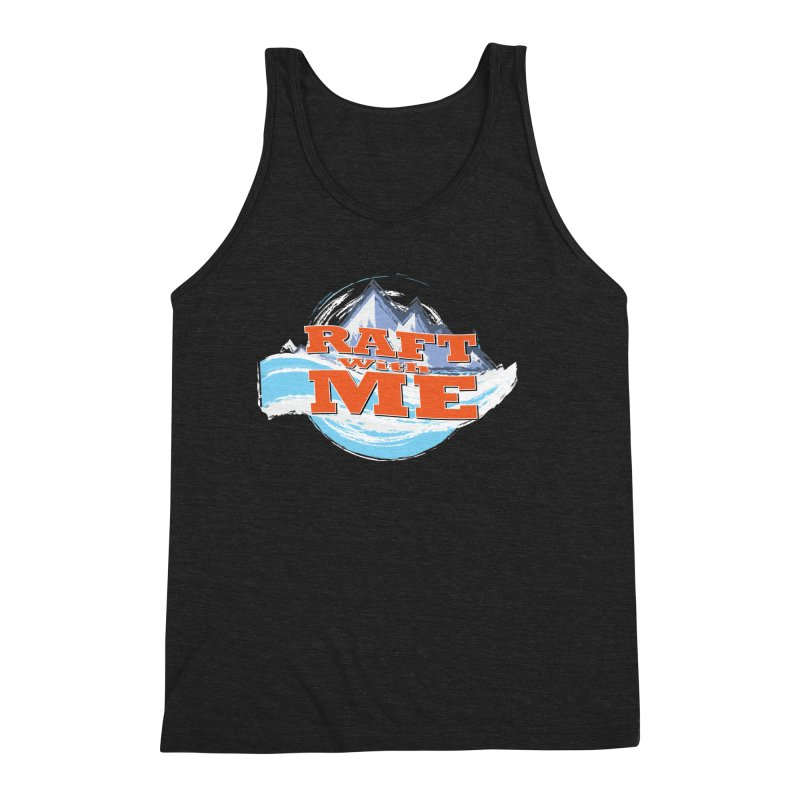 Raft with ME II Men's Triblend Tank by Monumental Expeditions