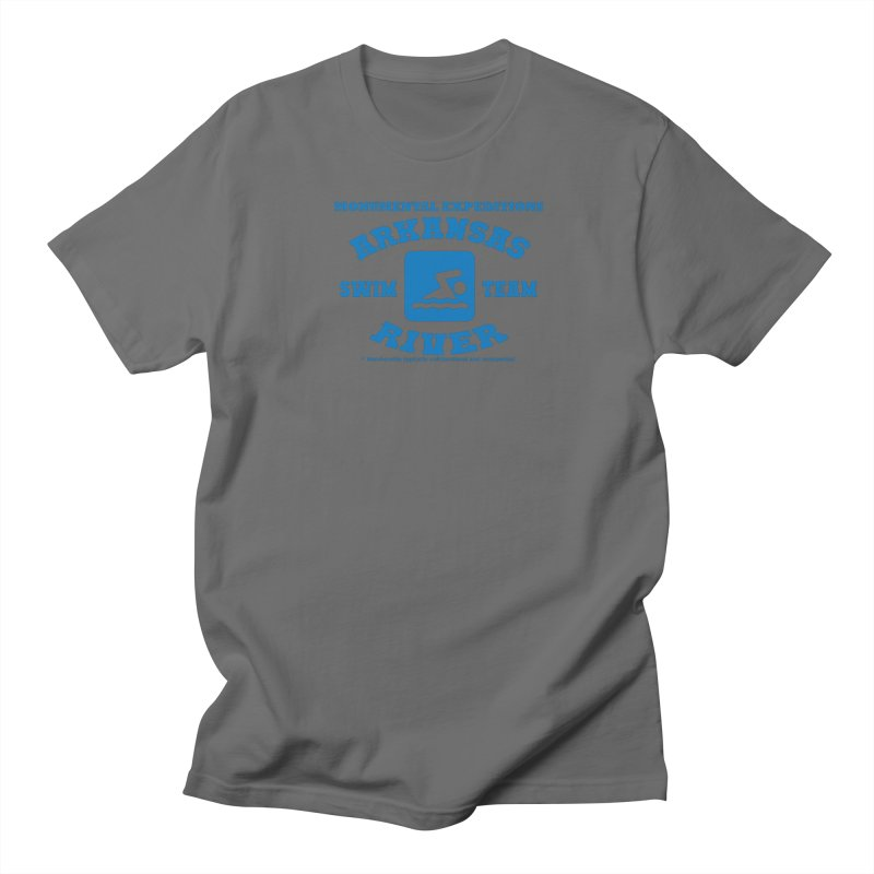 Arkansas River Swim Team Men's T-Shirt by Monumental Expeditions