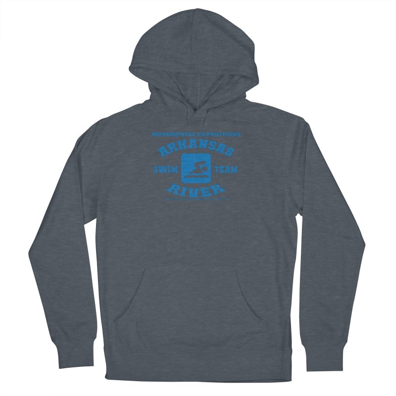 Arkansas River Swim Team Women's French Terry Pullover Hoody by Monumental Expeditions