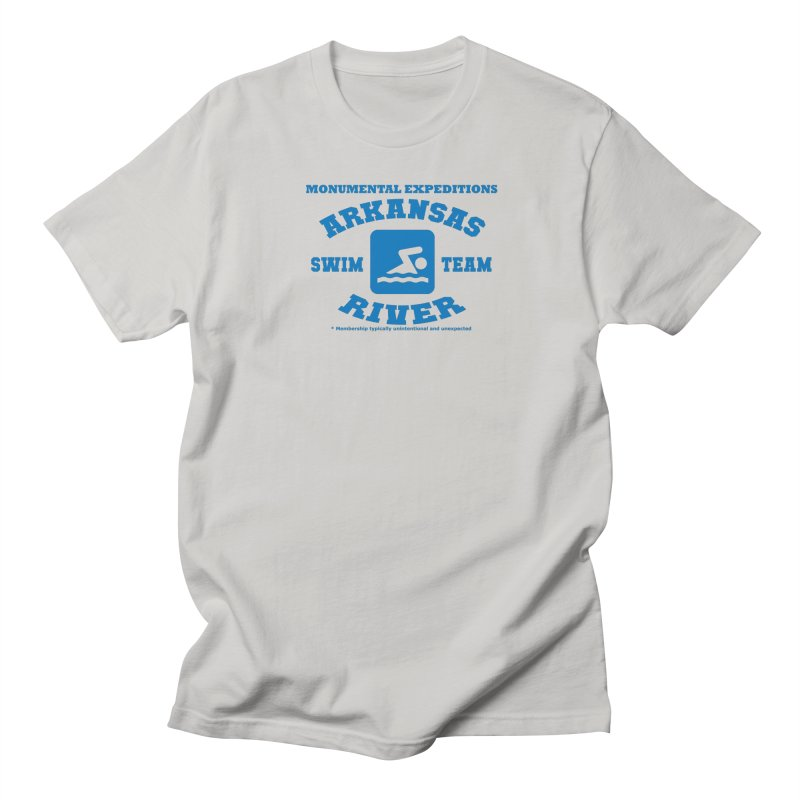 Arkansas River Swim Team Women's Regular Unisex T-Shirt by Monumental Expeditions