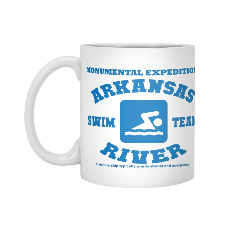 Arkansas River Swim Team Accessories Standard Mug by Monumental Expeditions