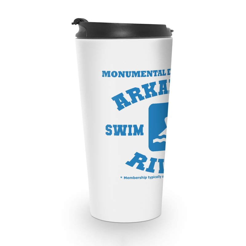 Arkansas River Swim Team Accessories Travel Mug by Monumental Expeditions