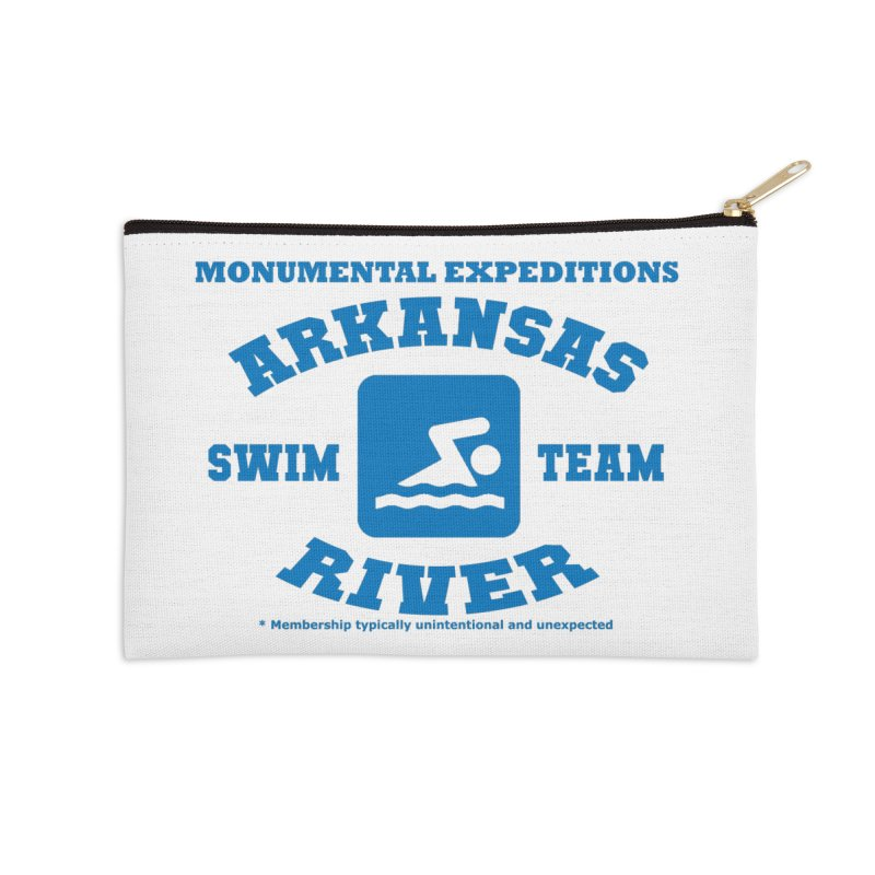 Arkansas River Swim Team Accessories Zip Pouch by Monumental Expeditions