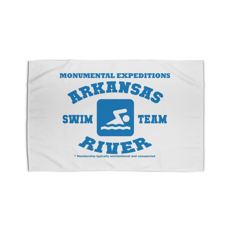 Arkansas River Swim Team Home Rug by Monumental Expeditions