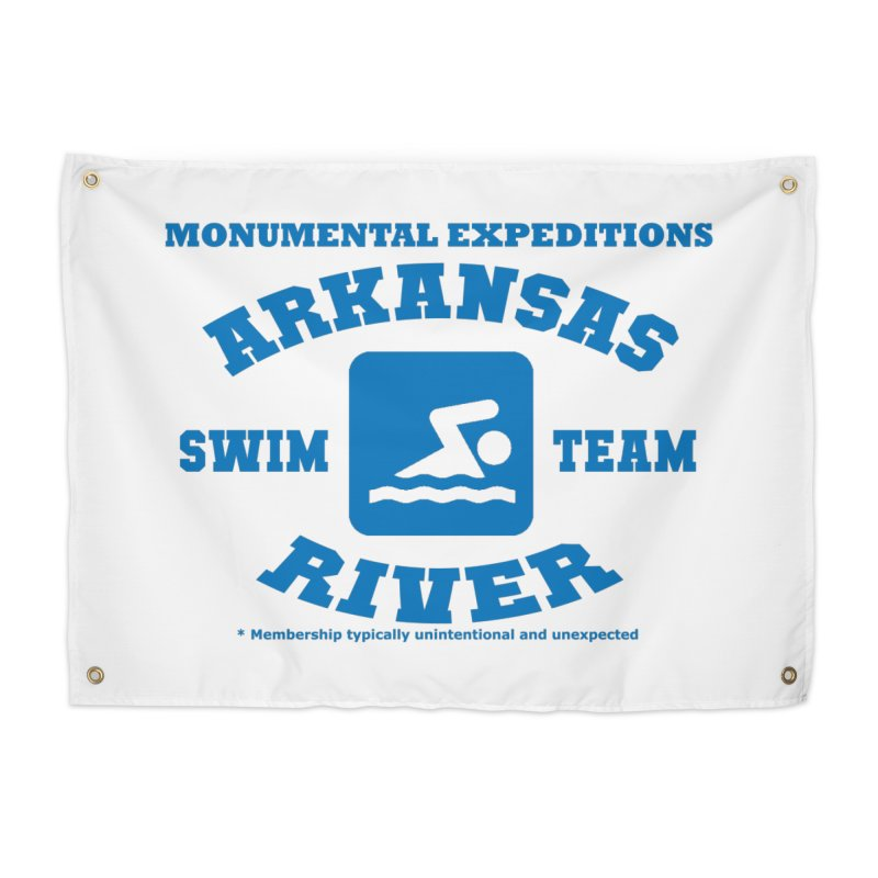 Arkansas River Swim Team Home Tapestry by Monumental Expeditions