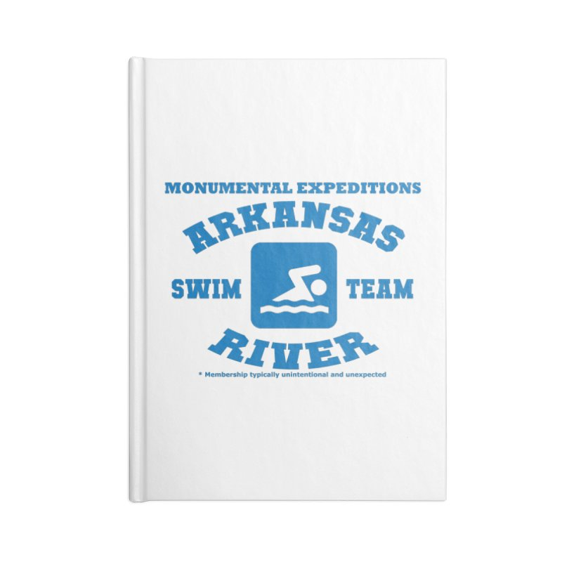 Arkansas River Swim Team Accessories Notebook by Monumental Expeditions