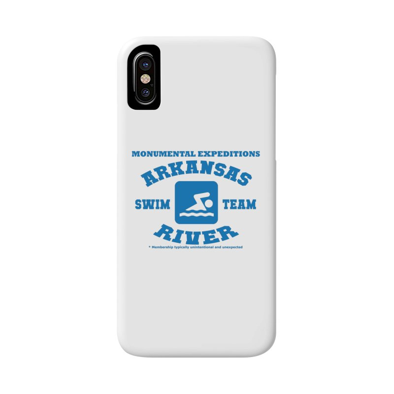 Arkansas River Swim Team Accessories Phone Case by Monumental Expeditions