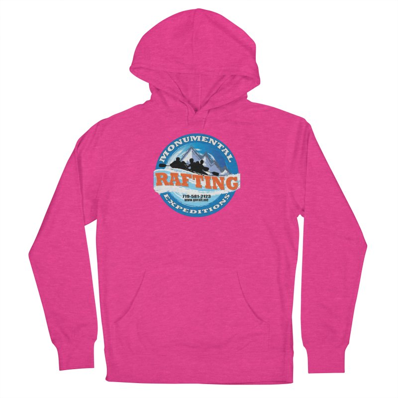 ME - Rafting Women's French Terry Pullover Hoody by Monumental Expeditions
