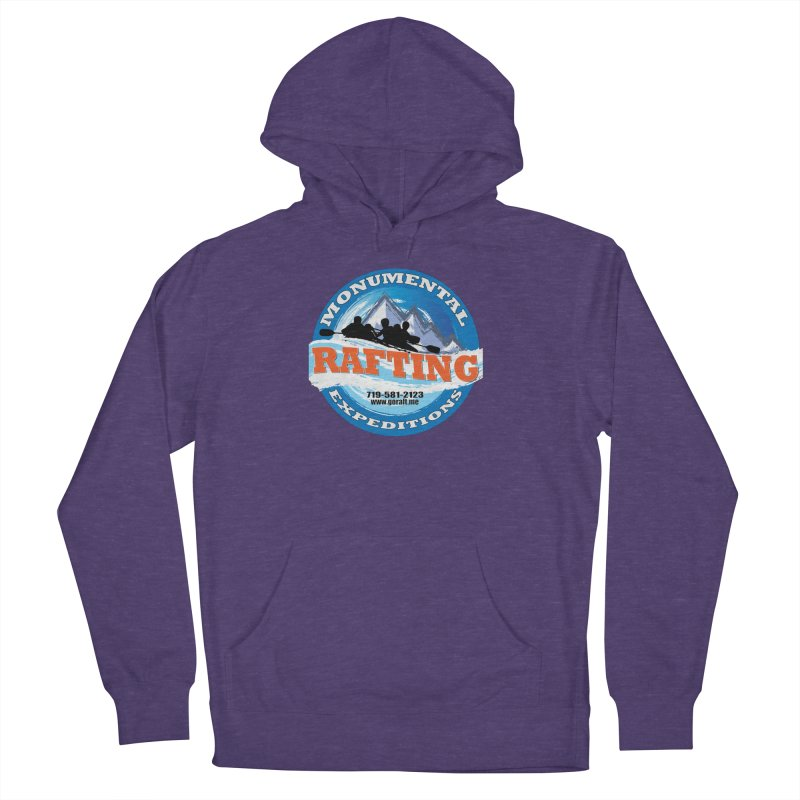 ME - Rafting Men's French Terry Pullover Hoody by Monumental Expeditions