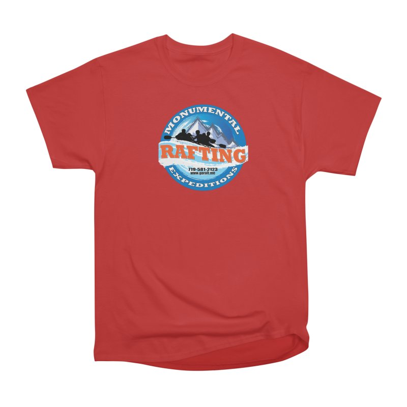 ME - Rafting Men's Heavyweight T-Shirt by Monumental Expeditions