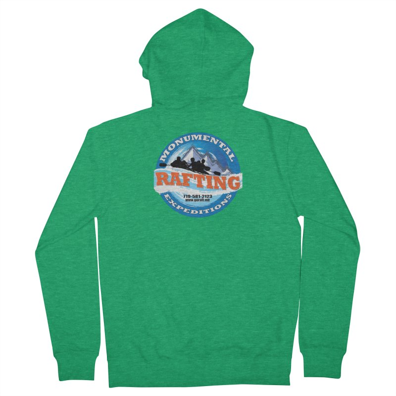 ME - Rafting Women's French Terry Zip-Up Hoody by Monumental Expeditions