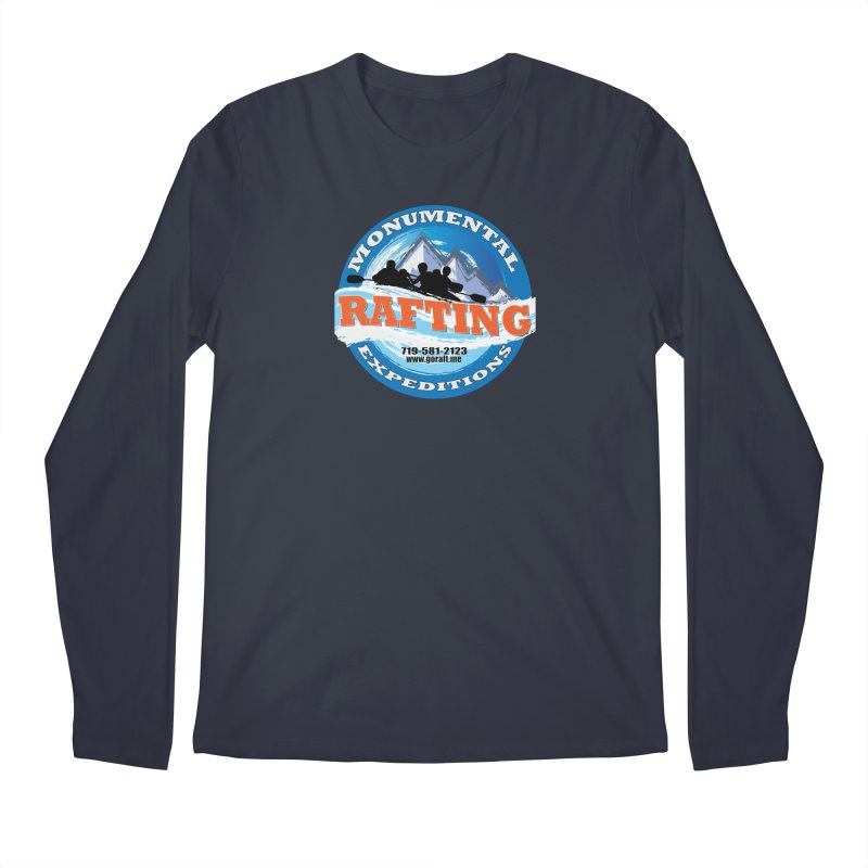 ME - Rafting Men's Regular Longsleeve T-Shirt by Monumental Expeditions