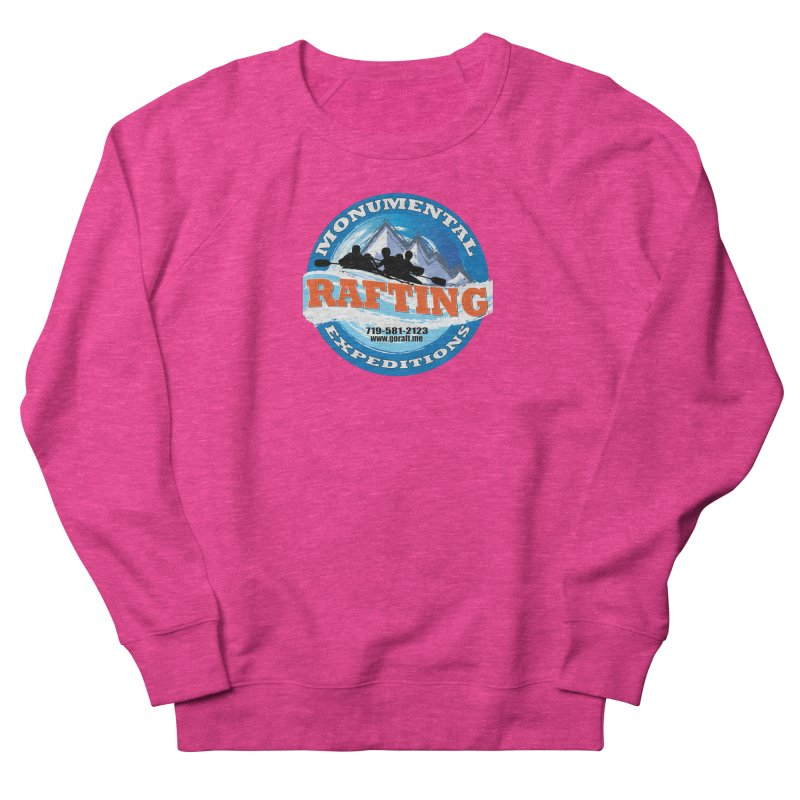 ME - Rafting Women's French Terry Sweatshirt by Monumental Expeditions