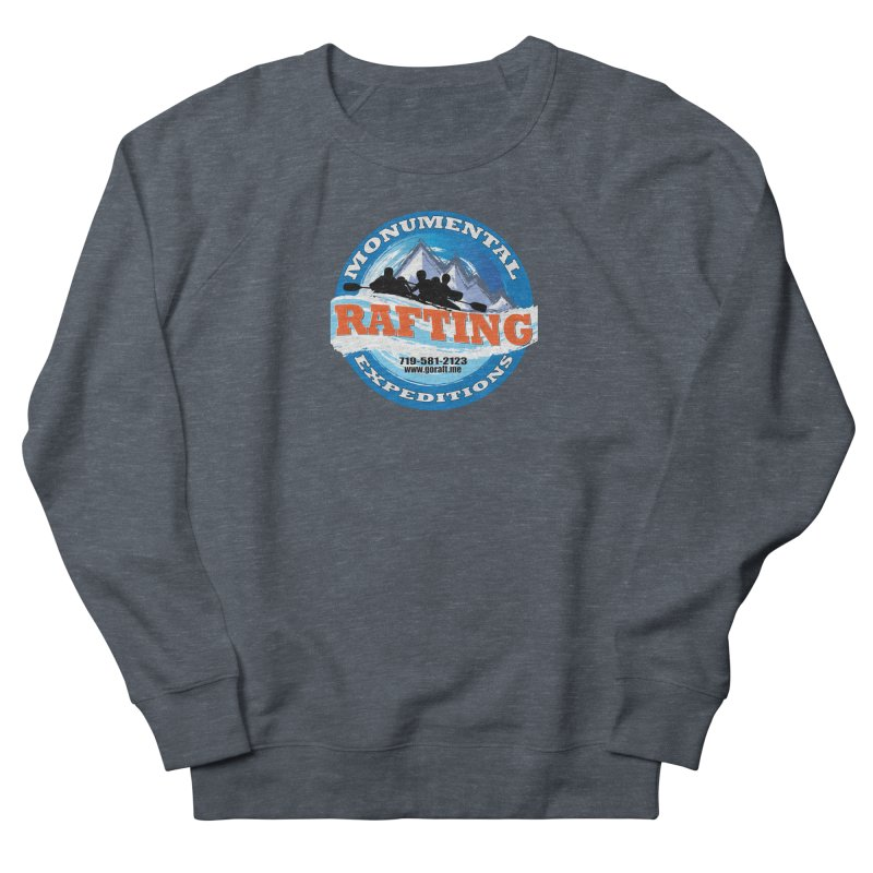 ME - Rafting Men's French Terry Sweatshirt by Monumental Expeditions