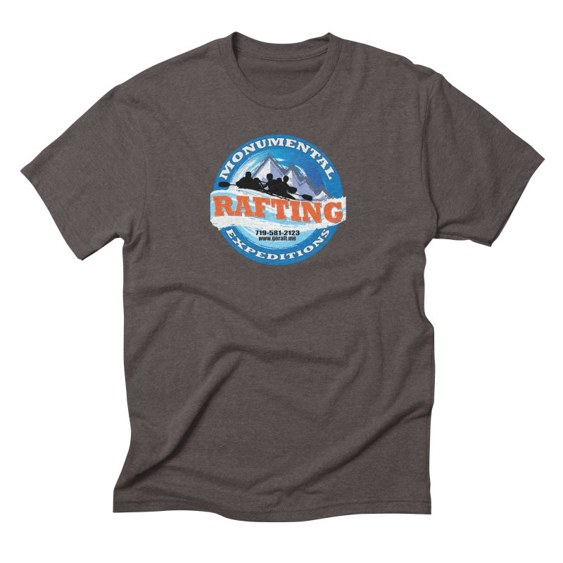 ME - Rafting Men's Triblend T-Shirt by Monumental Expeditions