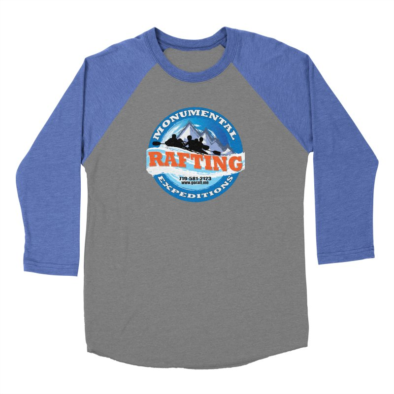 ME - Rafting Women's Baseball Triblend Longsleeve T-Shirt by Monumental Expeditions
