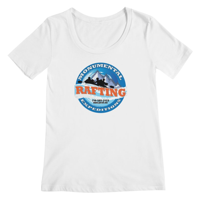 ME - Rafting Women's Regular Scoop Neck by Monumental Expeditions