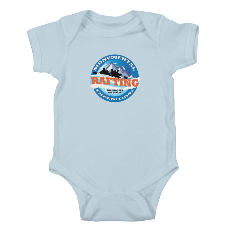 ME - Rafting Kids Baby Bodysuit by Monumental Expeditions