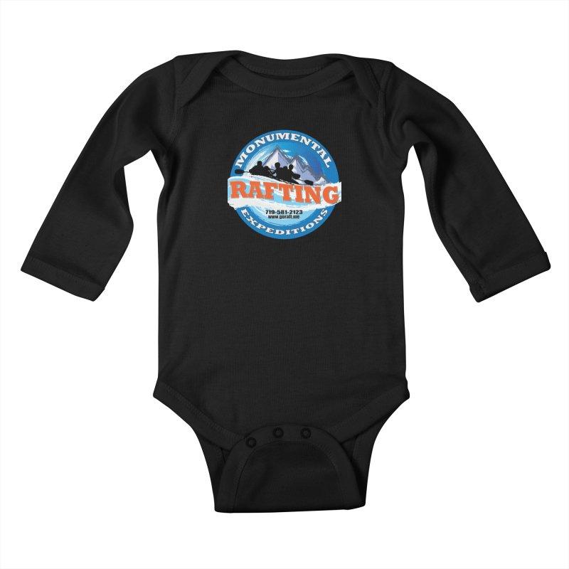 ME - Rafting Kids Baby Longsleeve Bodysuit by Monumental Expeditions