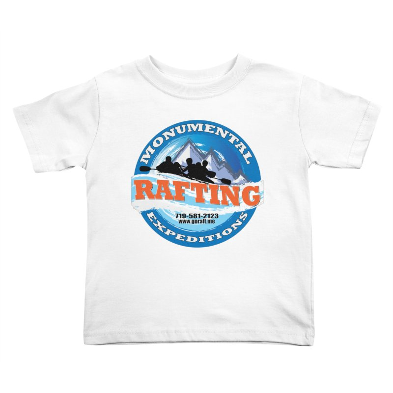 ME - Rafting Kids Toddler T-Shirt by Monumental Expeditions