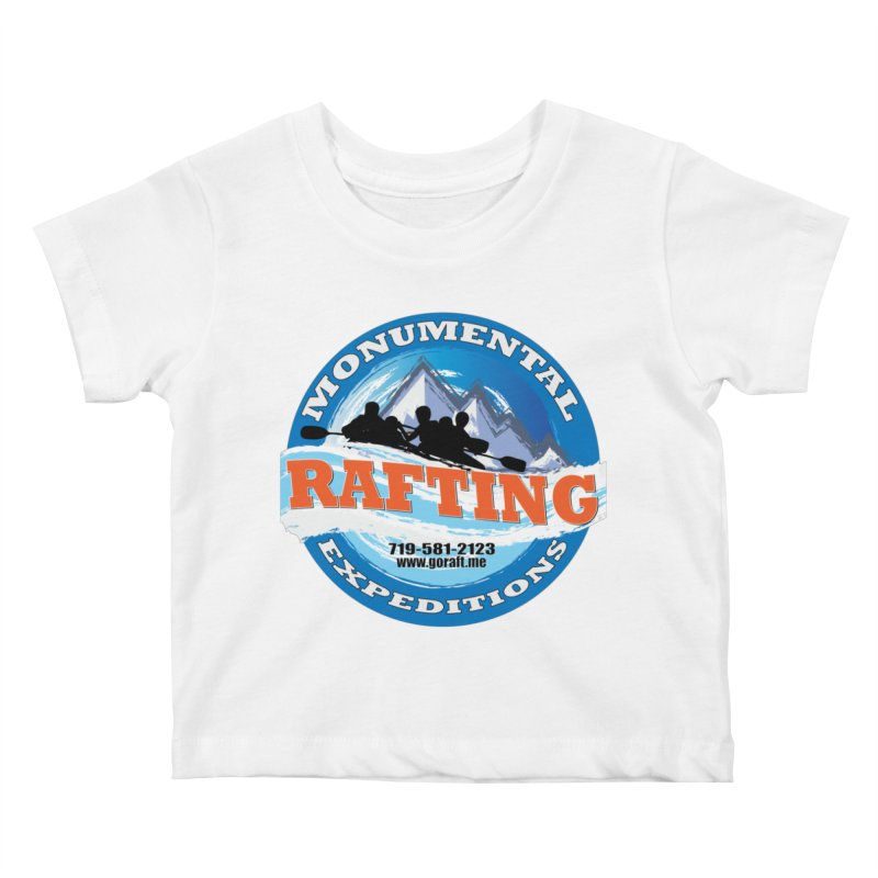 ME - Rafting Kids Baby T-Shirt by Monumental Expeditions