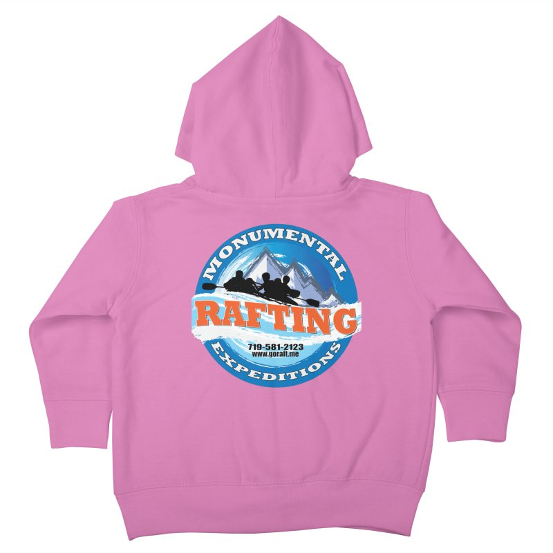 ME - Rafting Kids Toddler Zip-Up Hoody by Monumental Expeditions