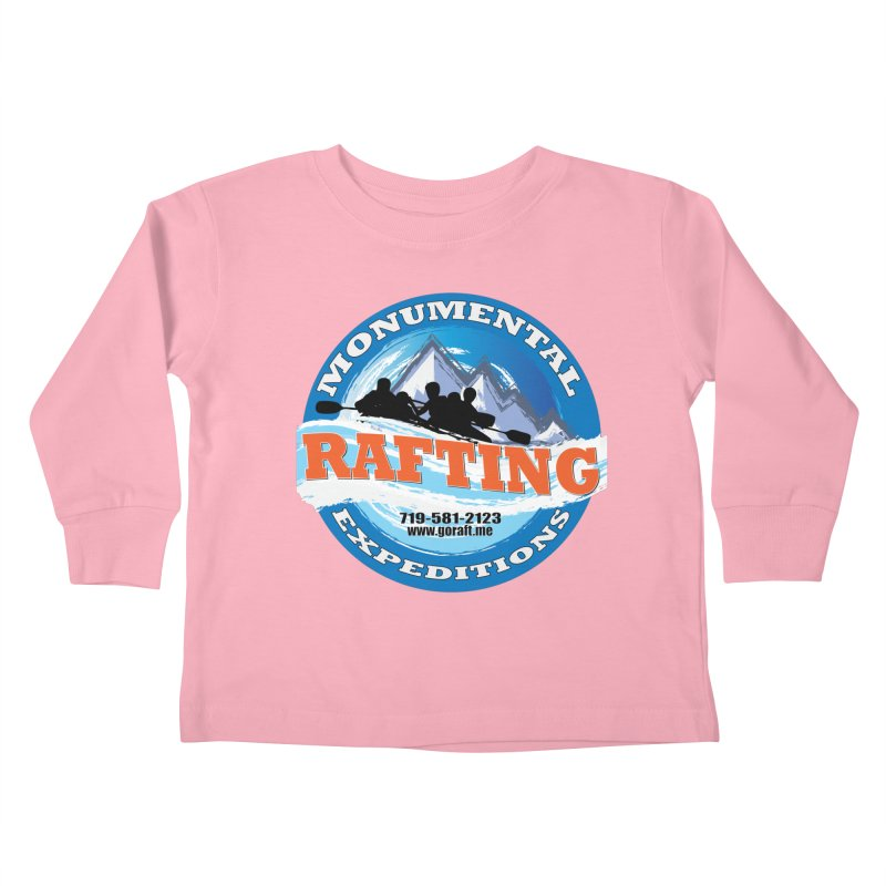 ME - Rafting Kids Toddler Longsleeve T-Shirt by Monumental Expeditions