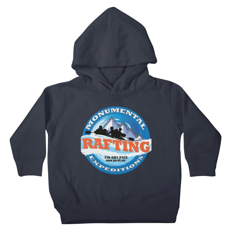 ME - Rafting Kids Toddler Pullover Hoody by Monumental Expeditions