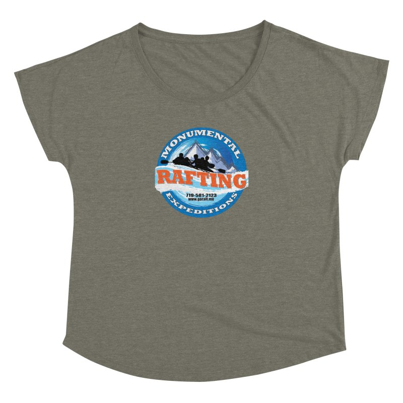 ME - Rafting Women's Dolman Scoop Neck by Monumental Expeditions