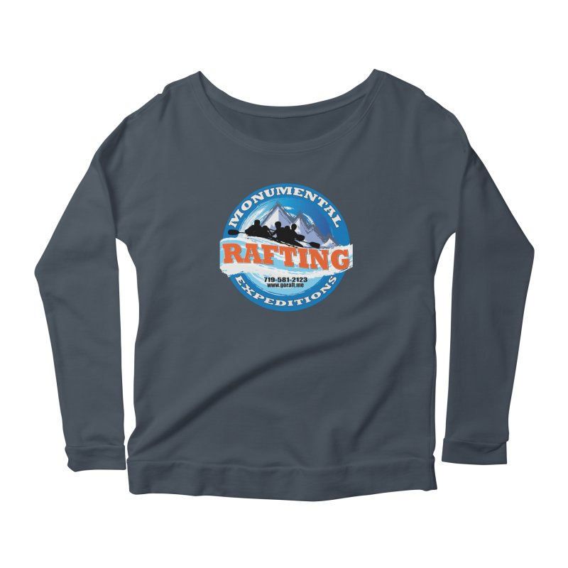 ME - Rafting Women's Scoop Neck Longsleeve T-Shirt by Monumental Expeditions