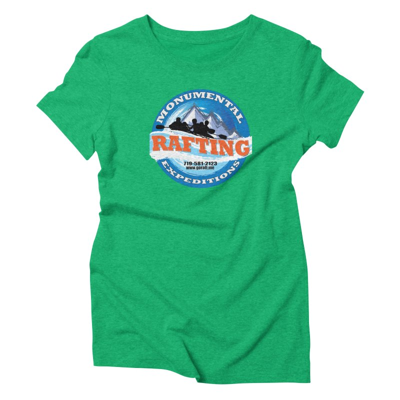ME - Rafting Women's Triblend T-Shirt by Monumental Expeditions
