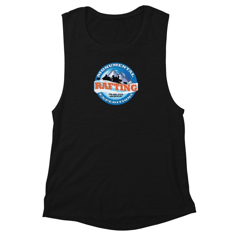 ME - Rafting Women's Muscle Tank by Monumental Expeditions