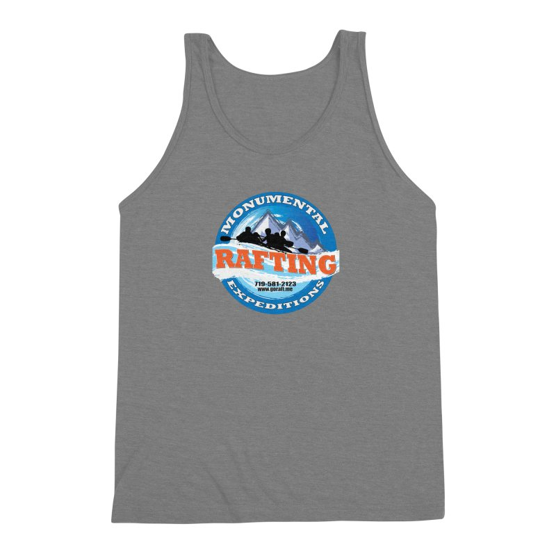 ME - Rafting Men's Triblend Tank by Monumental Expeditions