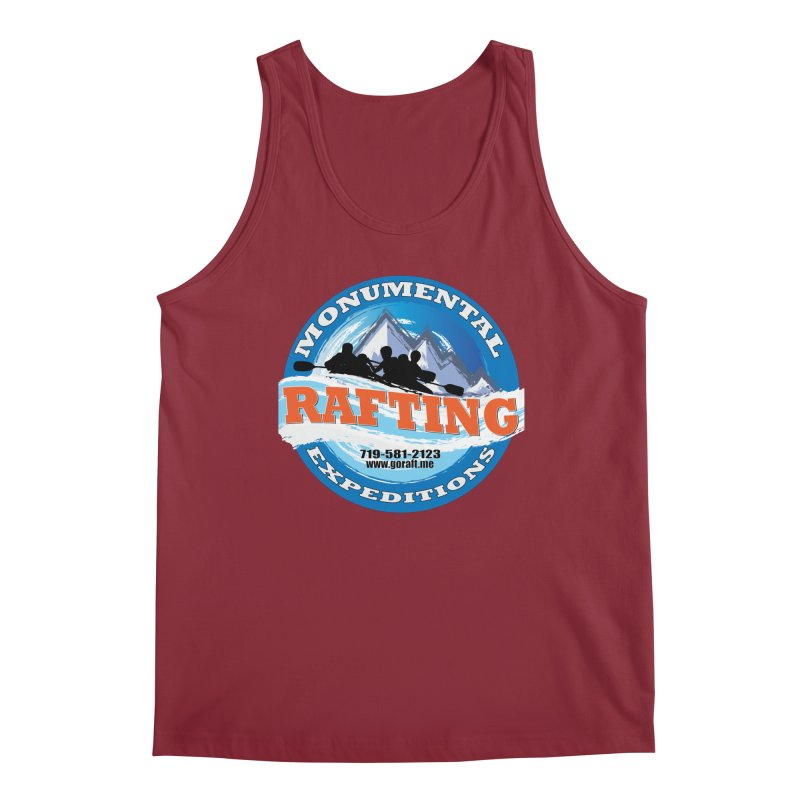 ME - Rafting Men's Regular Tank by Monumental Expeditions