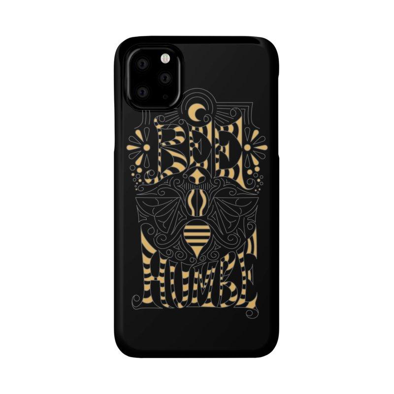 Bee Humble Accessories Phone Case by Moon Bear Design Studio's Artist Shop