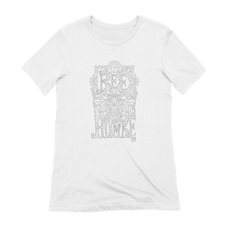 Bee Humble Women's Extra Soft T-Shirt by Moon Bear Design Studio's Artist Shop