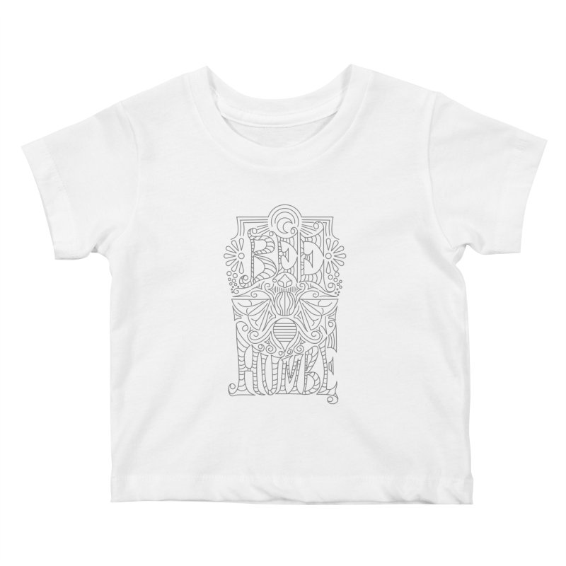 Bee Humble Kids Baby T-Shirt by Moon Bear Design Studio's Artist Shop