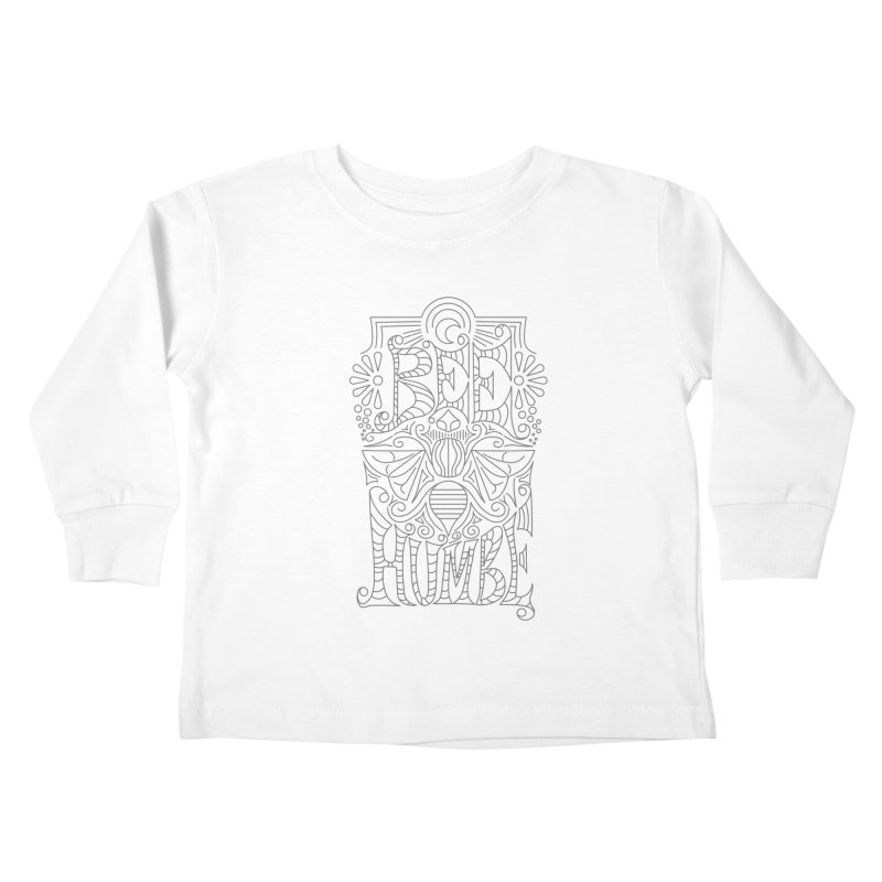 Bee Humble Kids Toddler Longsleeve T-Shirt by Moon Bear Design Studio's Artist Shop