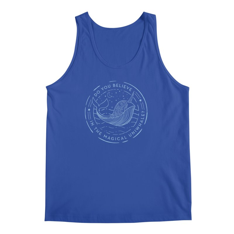 Do You Believe in the Magical Uni-Whale? Men's Regular Tank by Moon Bear Design Studio's Artist Shop