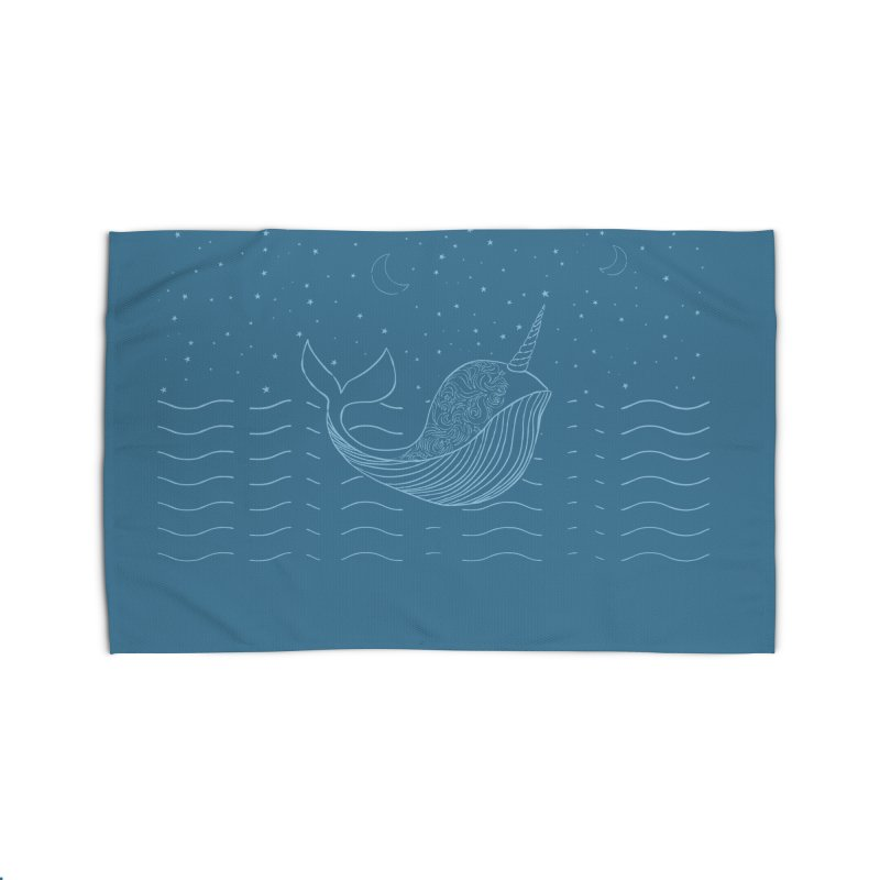 Do You Believe in the Magical Uni-Whale? Home Rug by Moon Bear Design Studio's Artist Shop