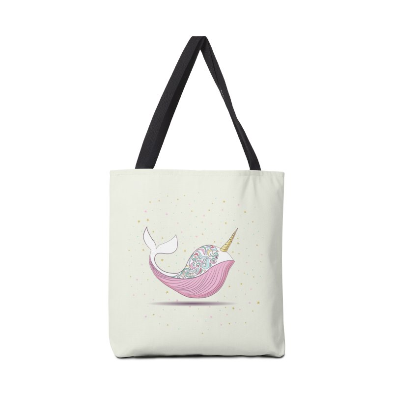 The Magical Uniwhale Accessories Tote Bag Bag by Moon Bear Design Studio's Artist Shop