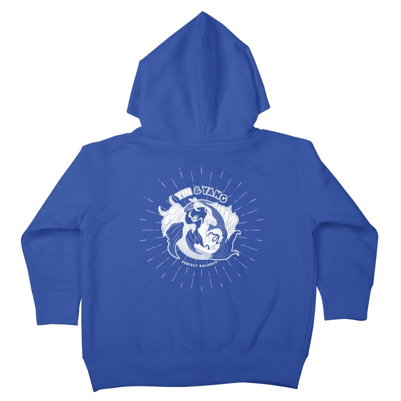 Coy Fish Yin and Yang - Perfect Balance Kids Toddler Zip-Up Hoody by Moon Bear Design Studio's Artist Shop