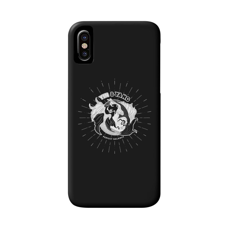 Coy Fish Yin and Yang - Perfect Balance Accessories Phone Case by Moon Bear Design Studio's Artist Shop